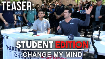 Ep 477 | TEASER: THE STUDENTS DEBATE (Part 2) | Change My Mind | Louder with Crowder