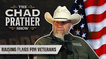 Ep 54 | Raising Flags for Veterans | Guest: Jamie Popwell | The Chad Prather Show