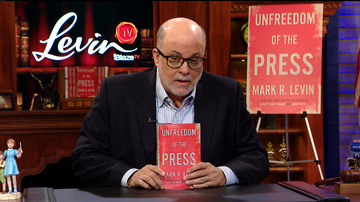 Mark Levin Talks About His New Book: 'Unfreedom of the Press'