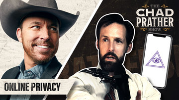 Ep 57 | Do You Have a Right to Online Privacy? | The Chad Prather Show