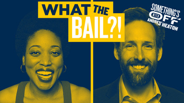 Ep 127 | Bail Ideas for When I Finally Get Arrested | Guest: Andrea Coleman | Something's Off with Andrew Heaton
