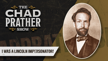 Ep 72 | I Was a Lincoln Impersonator! | Guest: Andrew Heaton | The Chad Prather Show