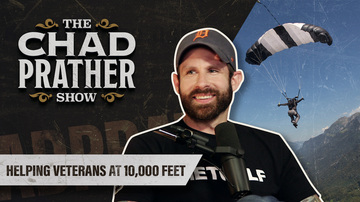 Ep 75 | Helping Veterans at 10,000 Feet | Guest: Ryan Parrott | The Chad Prather Show