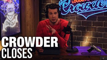 CROWDER CLOSES Overcoming the