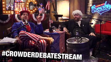 Ep 510 | Crowder's Democrat Debate Livestream Takeover! | Louder with Crowder