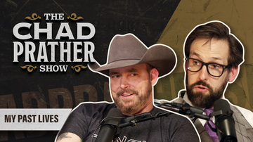 Ep 90 | My Past Lives | Guest: Andrew Heaton | The Chad Prather Show