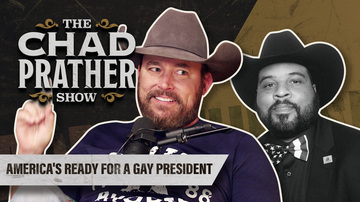 Ep 91 | America's Ready for a Gay President | Guest: Brian Bledsoe | The Chad Prather Show