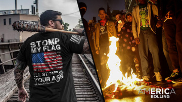 Ep 173   'Stomp My Flag, I'll Stomp Your A**'   America with Eric Bolling