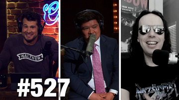 Ep 527 | EPSTEIN CONSPIRACIES & TRUMP RECESSION! | Raz0rfist Guests | Louder With Crowder