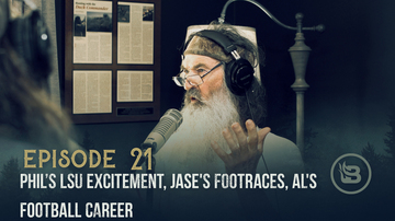 Ep 21 | Phil's LSU Excitement, Jase's Footraces, Al's Football Career | Unashamed with Phil Robertson