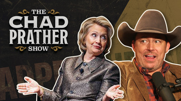 Ep 131 | Hillary Clinton's in the Race & THE NEW STUDIO IS REVEALED! | The Chad Prather Show