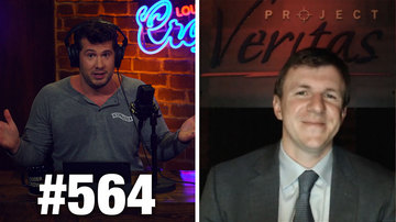 Ep 564 | COWARDS: 'Woke' NBA's China Hypocrisy! | James O'Keefe Guests | Louder with Crowder