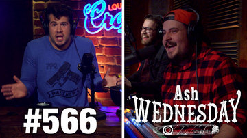 Ep 566 | ASH WEDNESDAY: The Pros and Cons of Libertarianism | Louder with Crowder
