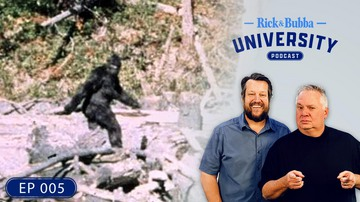 Ep 5 | Bigfoot Bob: Mysterious Sightings, Paranormal Phenomena, Encounters in the Wild | Rick & Bubb