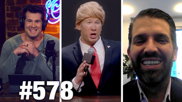 Ep 578 | TRUMP WHISTLEBLOWER EXPOSED?! | Donald Trump Jr. Guests | Louder with Crowder