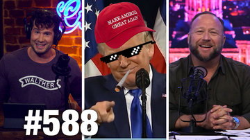 Ep 588 | TRUMP WINNING IMPEACHMENT WAR | Alex Jones Guests | Louder with Crowder