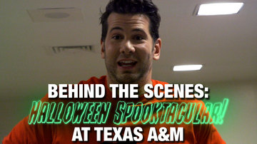 Ep 580 | BEHIND THE SCENES: Halloween Spooktacular at Texas A&M! | Louder with Crowder