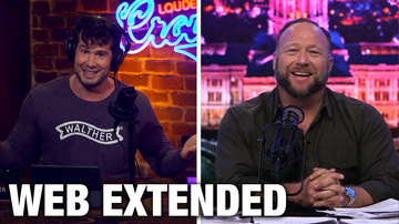 Ep 590 | WEB EXTENDED: Alex Jones Interview | Louder with Crowder