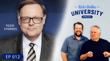 Ep 12 | Impeaching the American People | Guest: Todd Starnes | Rick & Bubba University