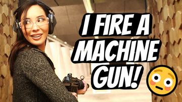 Ep 118 | Firing a MACHINE GUN for the FIRST TIME! | Pseudo-Intellectual