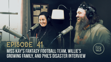 Ep 41 | Miss Kay's Fantasy Football Team, Willie's Growing Family, and Phil's Disaster Interview | Unashamed with Phil Robertson