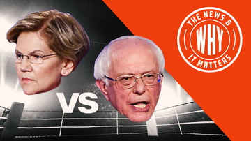Ep 447 | Bernie Sanders to Elizabeth Warren: 'A Woman Can't Win!' | The News & Why It Matters