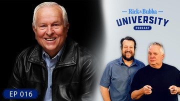 Ep 16 |State of the Church in America| Guest: Josh McDowell | Rick & Bubba University