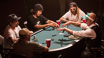 TABLE 03 - Jamie Foy, Franky Villani, Lizard King, & Jon Sciano