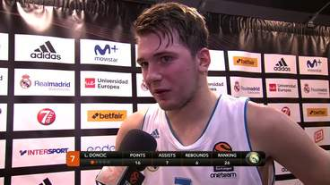 Player of the Game Interview: Luka Doncic, Real Madrid