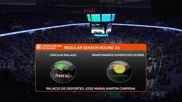 Unicaja Malaga vs. Panathinaikos Superfoods Athens