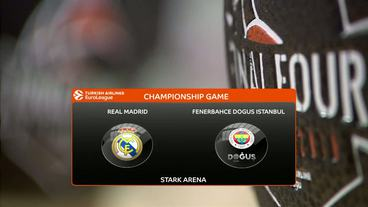 Real Madrid vs. Fenerbahce Dogus Istanbul