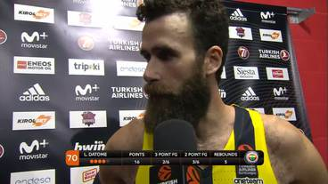 Post-Game Interview: Luigi Datome, Fenerbahce Istanbul