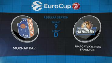 Mornar Bar vs. Fraport Skyliners Frankfurt Recap