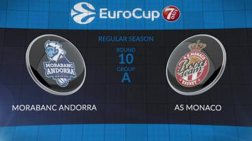 Morabanc Andorra vs. AS Monaco Recap