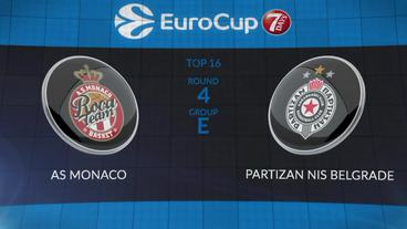 AS Monaco vs. Partizan NIS Belgrade Recap