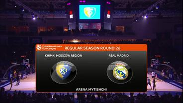 Khimki Moscow Region vs Real Madrid Recap