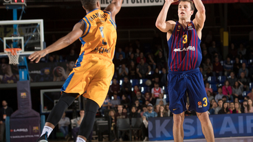 Kevin Pangos Top 3-pointers vs. Herbalife Gran Canaria