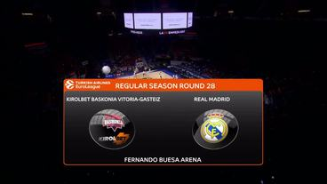 KIROLBET Baskonia Vitoria Gasteiz vs. Real Madrid Recap