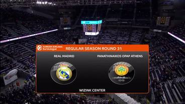 Real Madrid vs. Panathinaikos OPAP Athens Recap