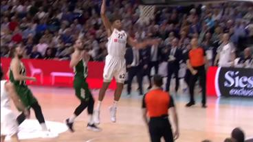BEAUTIFUL transition basketball from Real Madrid