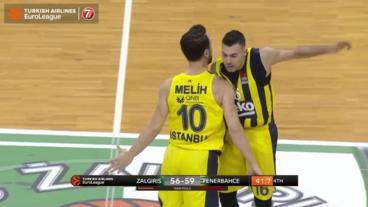 Listen to that Melih Mahmutoglu roar as he seals the game for Fenerbahce