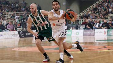 Facundo Campazzo Posts 16 points & 10 assists vs. Panathinaikos