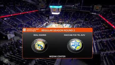 Real Madrid vs. Maccabi FOX Tel Aviv Recap