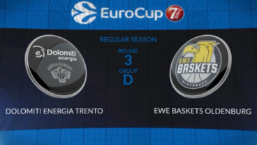 Dolomiti Energia Trento vs Ewe Baskets Oldenburg Recap