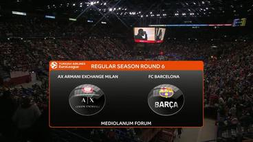 AX Armani Exchange Milan vs FC Barcelona Recap