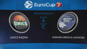 UNICS Kazan vs Germani Brescia Leonessa Recap