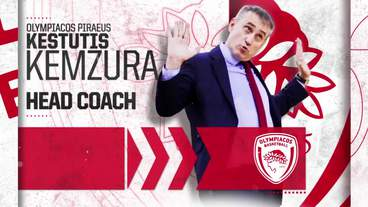 Post-game Interview: Kestutis Kemzura, Olympiacos Piraeus