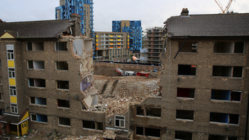 The Demolition Man: Lewisham