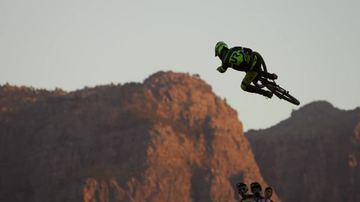 Sam Reynolds Freestyle Mountain Biker