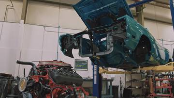Installing 426 Hemi into Plymouth Road Runner